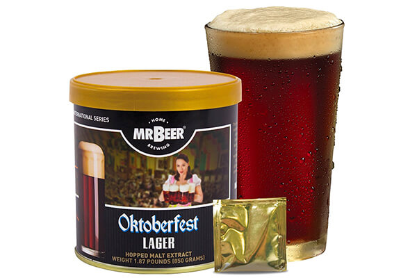 Mr. Beer Oktoberfest Lager Home Brewing Craft Beer Refill Kit