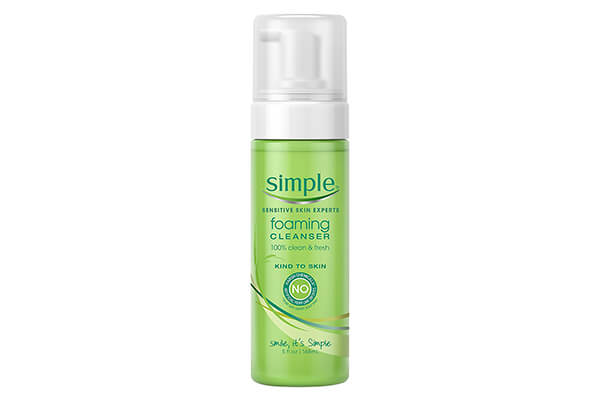 Simple Kind to Skin Facial Cleanser, Foaming 5 oz