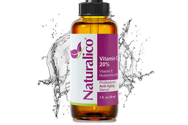 Naturalico Anti-Aging Organic 20% Vitamin C Serum for Face