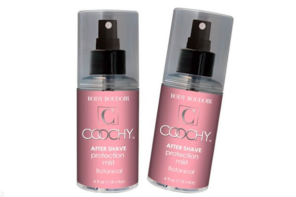 Coochy Water Based After Shave Skin Protection Soothing Mist