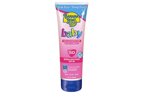 Banana Boat Baby Sunscreen Sunscreen Lotion