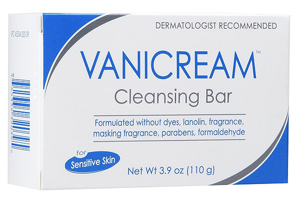 Vanicream Cleansing Bar for Sensitive Skin