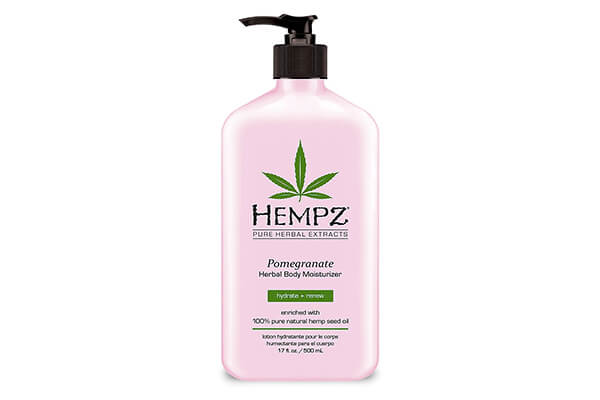 Hempz Herbal Body Moisturizer, Pomegranate, 17 Fluid Ounce