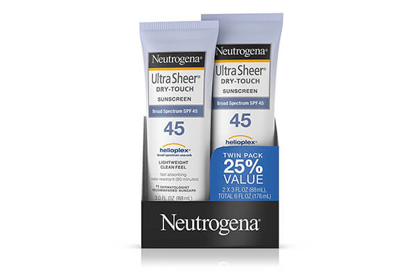 Neutrogena Ultra Sheer Dry-Touch Sunscreen