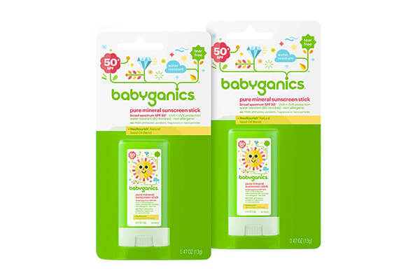 Babyganics Mineral-Based Baby Sunscreen Stick