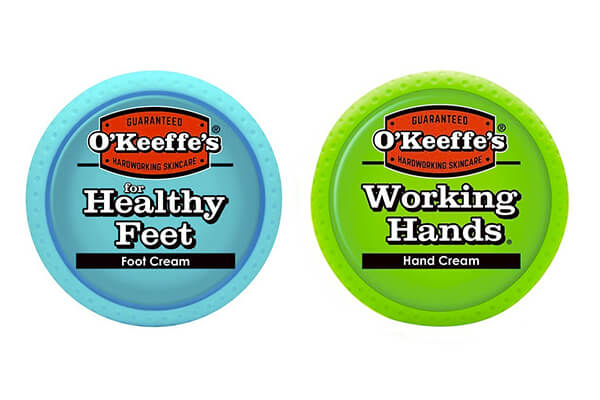 O'Keeffe's Working Hands & Healthy Feet Combination Pack of Jars