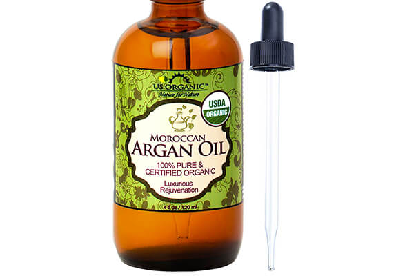 Number 1 Organic Moroccan Argan Oil, USDA Certified Organic,100% Pure & Natural