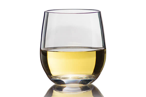 6. Game Changer Unbreakable Stemless Wine Glass