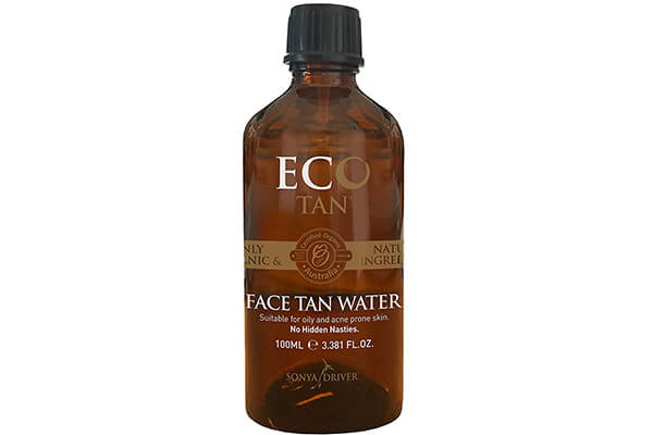E-Cotan Organic Face Tan Water, Suitable for Oily and Acne-Prone Skin