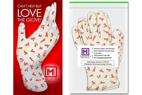 LOVE Jamzz Moisturizing Gloves
