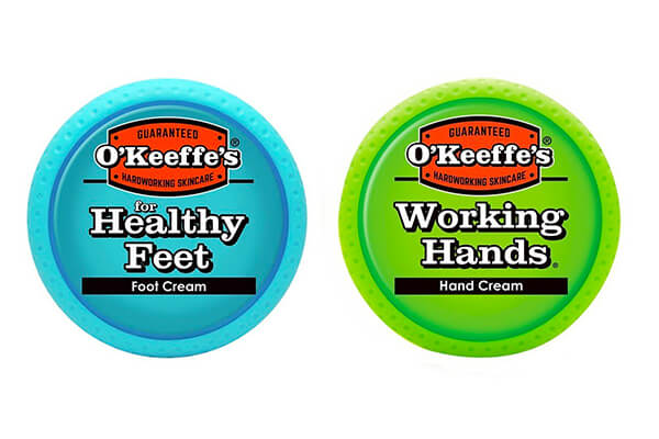 O'Keeffe's Working Hands & Healthy Feet Combination