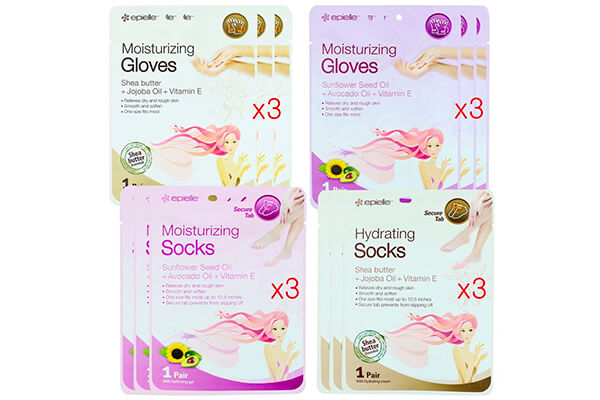 Kareway Epielle Assorted Moisturizing Gloves