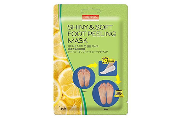 Shiny and Soft Exfoliating Foot Peeling Mask