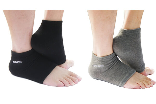 Open Toe Silicone Gel Heel Socks