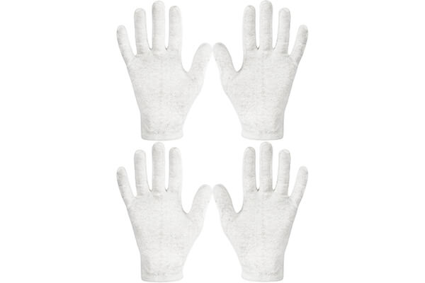 Eurow Cotton Cosmetic Moisturizing Gloves