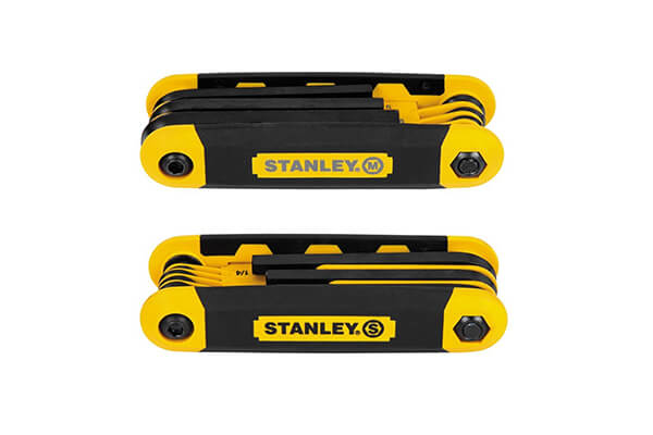 Stanley STHT71839 Folding Metric and Sae Hex Keys