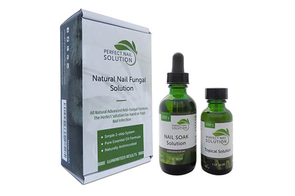 Toenail Fungus Treatment - Natural 2-Step Topical Anti-Fungal Solution with Pure Essential Oils