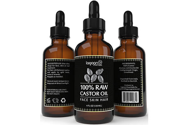 Lagoon Essentials raw virgin unrefined castor oil