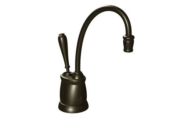 InSinkErator F GN2215ORB Indulge Tuscan Hot Water Dispenser Faucet