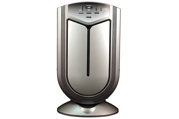 Advanced Pure air Air Shield Air Purifier | Auto-Detect Dust, Smoke, & Odors and Auto- Adjust Air Quality, Prevents Allergies From Pet's Mold & Danger, Destroys Bacteria & Viruses, for 800 Sq. Ft