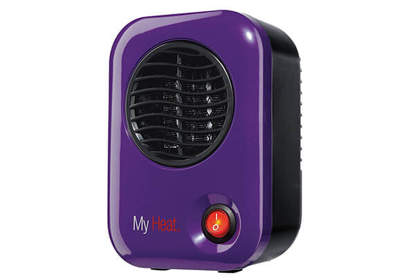 lasko 106 my heat personal ceramic heater purple