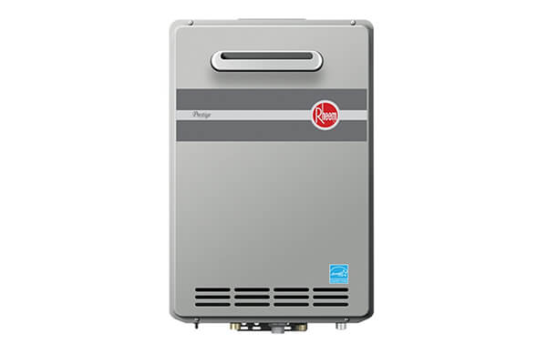 Rheem Propane Outdoor Whole House Low NOx Condensing Tankless 9.5 GPM Water Heater