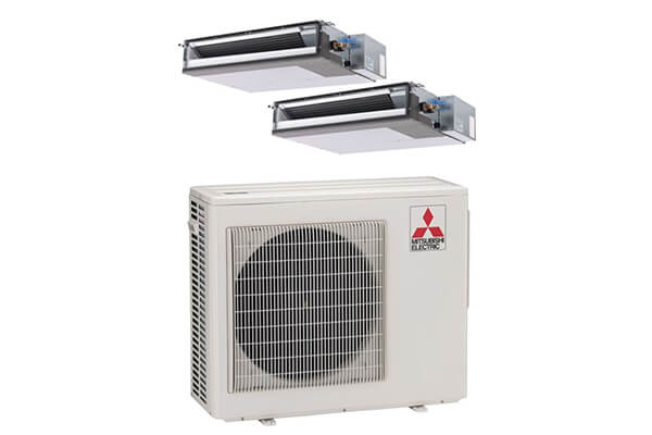 Mitsubishi MXZ2B20NA12017-20,000 Duct Mini Split Air Conditioner Heat Pump
