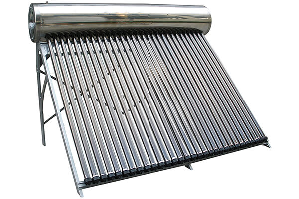 150 Liter SUS304 Passive Duda Solar Water Heater Attached Pressurized Tank Evacuated Tubes Hot