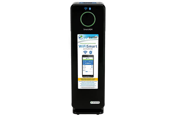 GermGuardian CDAP4500BCA Wi-Fi Smart 4-in-1 Air Cleaning System with SmartAQM Air