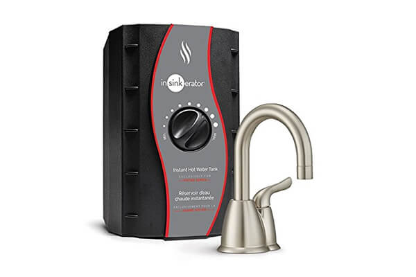 InSinkErator H-HOT150SN-SS Invite Instant Hot Water Dispenser System