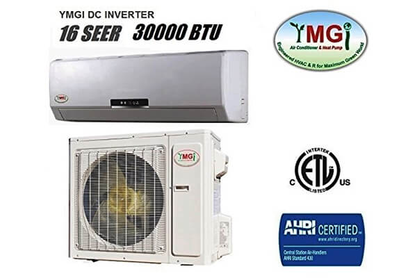 YMGI 30,000 BTU Mini Split DC Inverter Air Conditioner