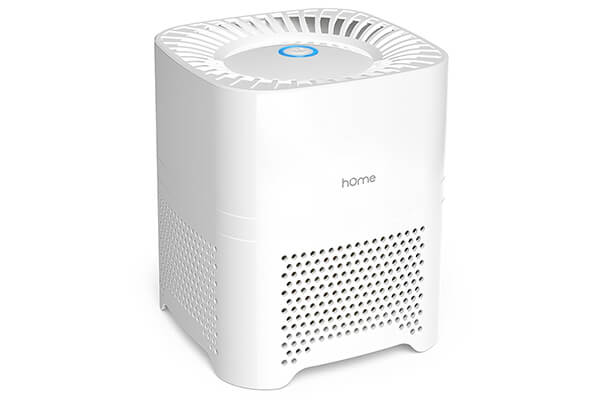 Home Ionic Air Purifier HEPA Filter for Allergies - Portable 3 in 1 Air Purifier with UV-C Sanitizer Odor Allergen Reduction - Air Cleaning System for Desktop or Small Rooms