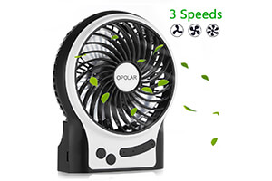 Top 10 Best Portable Personal Fans for Camping of 2019 Review