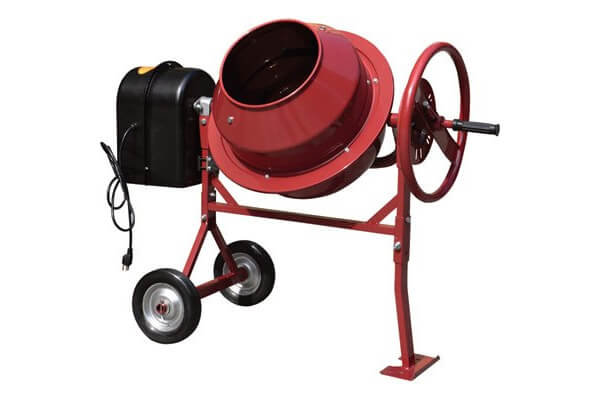 Northern Industrial Mini Cement Mixer - 1.77 Cubic Ft., Model# CM125
