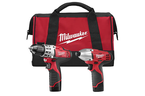 Milwaukee 2494-22 M12 Cordless Drill Kit, 2 Battery