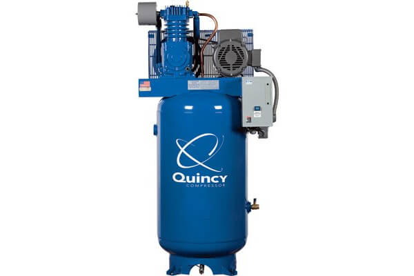 Quincy QT-7.5 Splash Lubricated Reciprocating Air Compressor