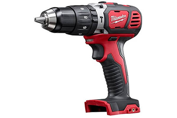Milwaukee M18 18V Compact Hammer Drill/Driver - Bare Tool (2607-20)
