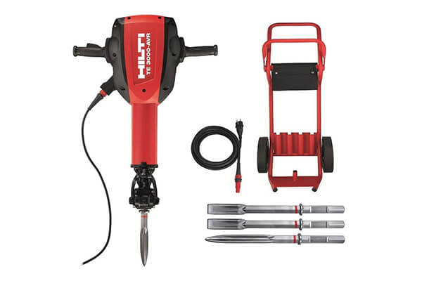 Hilti 3492616 Breaker perf pkg TE 3000-AVR drilling demolition Hammer for Concrete