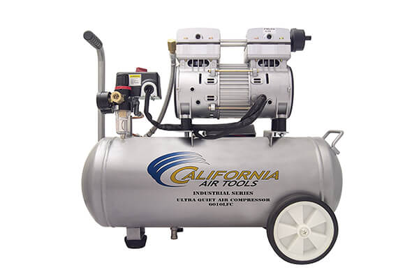 California Air Tools 6010LFC 1.0 HP Ultra Quiet and Oil-Free Industrial Air Compressor