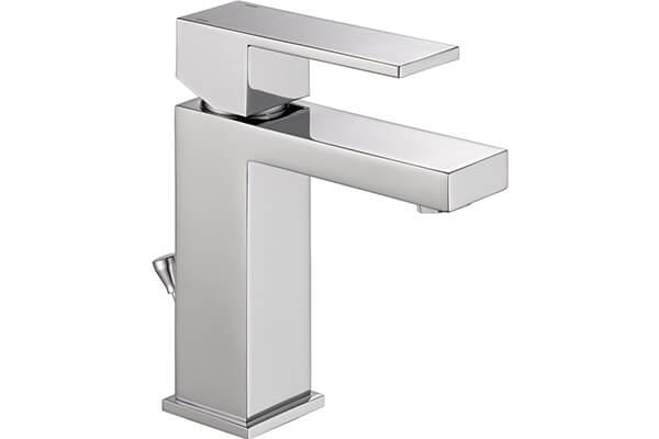 Delta Faucet 567LF-PP Modern Single Handle Bathroom Faucet