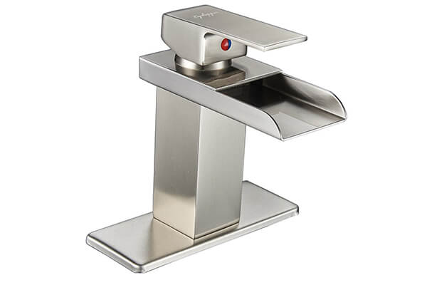 Eyekepper Nickel Bathroom Sink Vessel faucet