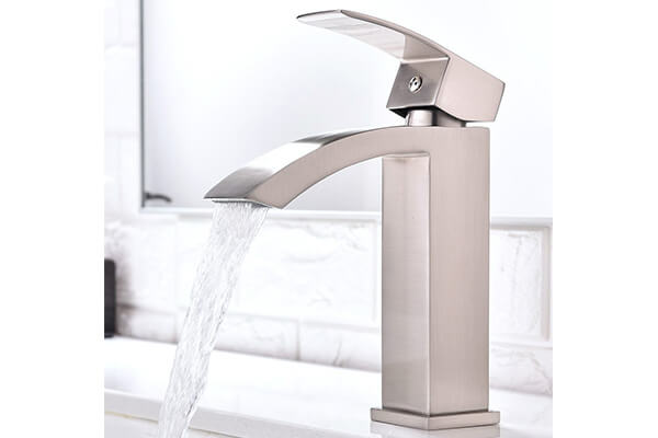 Friho Single Handle Waterfall Bathroom Vanity Sink Faucet