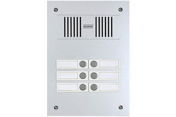 Aiphone Corporation VC-6M 6-Call Audio Entrance Station Multi-Tenant Intercom