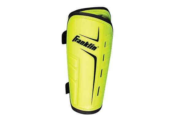 Franklin Sports Superlight Shin Guards-Optic Yellow