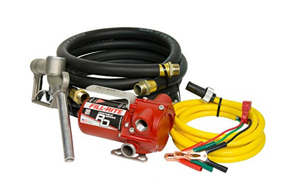 Fill-Rite RD812NH 8 GPM 12V Portable Fuel Transfer Pump with Manual Nozzle