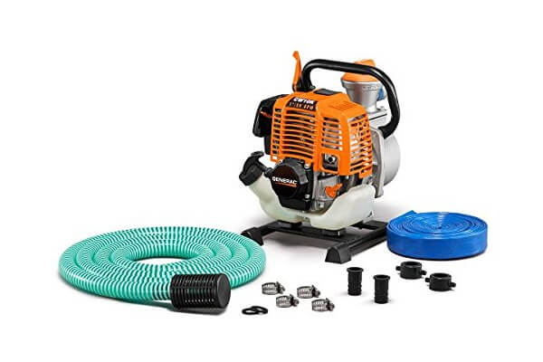 Generac 6917 CW10K 1-Inch Water Pump with Hose Kit