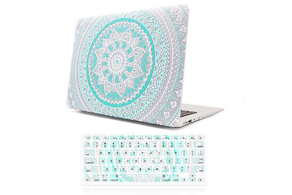 iCasso Macbook Air 13 inch Rubber Coated Soft Touch Hard Shell Protective Case