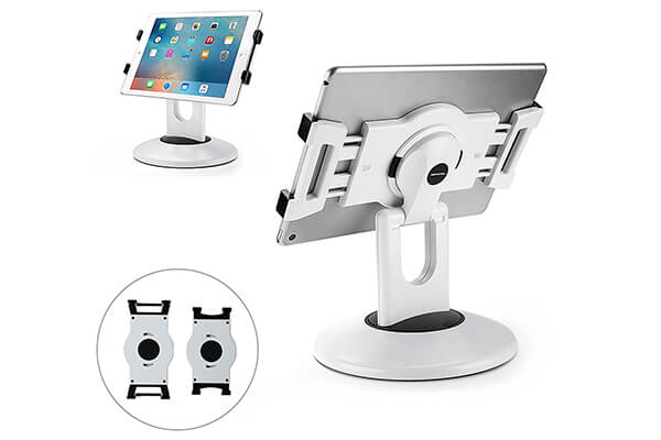 AboveTEK Retail Kiosk iPad Stand Rotating Commercial Tablet Stand
