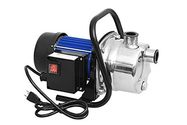 1.6HP Stainless Shallow Well Pump Water Pumps Sprinkling Booster Pump