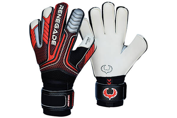 Renegade GK Vulcan Goalkeeper Gloves With Removable Pro Fingersaves